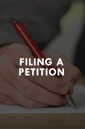 Filing a divorce petition in Wisconsin